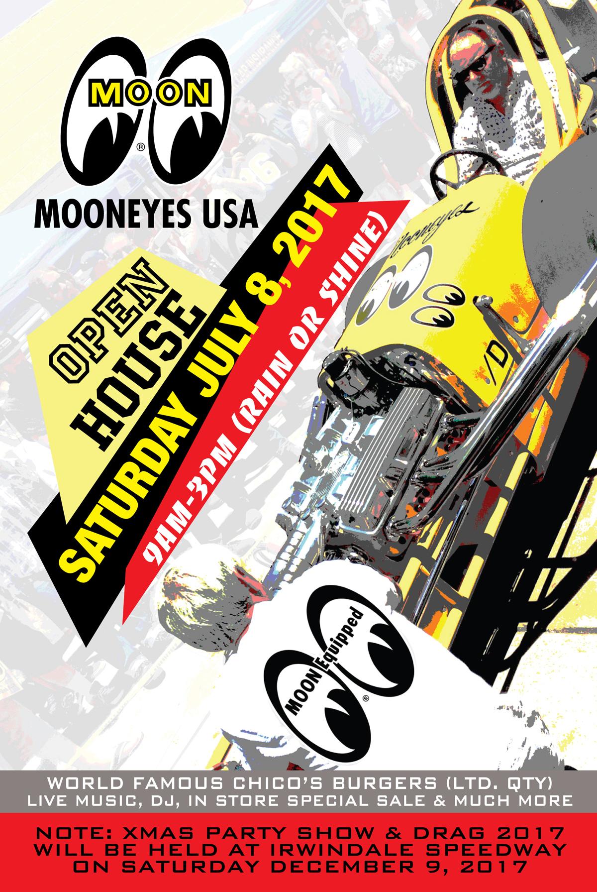 Mooneyes USA 2017 Catalog